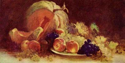 """Н.Григореску """"Натюрморт с фруктами."""""""