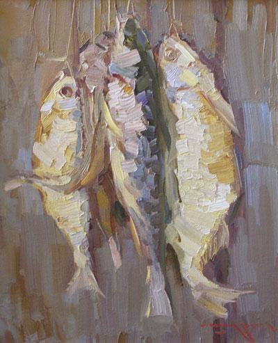 """А.Шадрин """"Черноморская рыбка."""""""