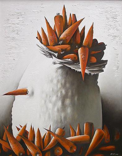 """Б.Клевогин """"Морковь."""""""