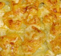 Картошка по-лионски.
