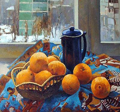 """В.Довбенко """"Апельсины."""""""