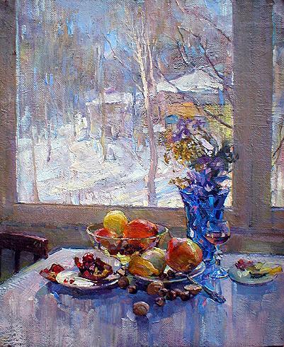 """Р.Ласткина """"Морозное утро."""""""