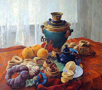 """В.Довбенко """"Завтрак."""""""