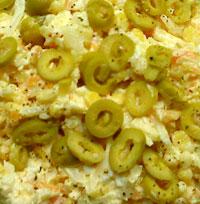 Орлеанский сырный салат.