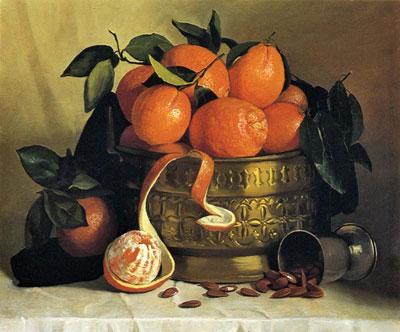 """А.Герасимов """"Натюрморт с марокканскими апельсинами."""""""