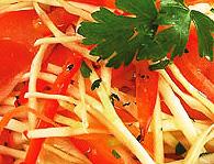Овощной салат по-панагюрски. Болгарская кухня.