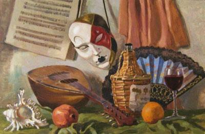 """В.Лаповок """"Венецианский натюрморт."""""""