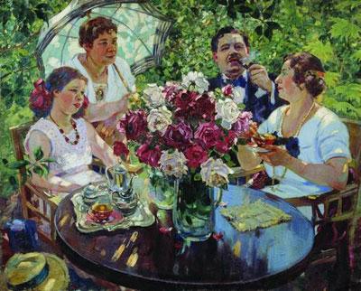"""А.М.Герасимов """"Семейный портрет."""""""