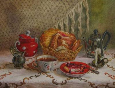 "Елена Синица ""Ранний завтрак."""