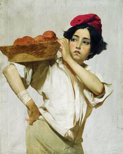 """И.К.Макаров """"Итальянский разносчик."""""""