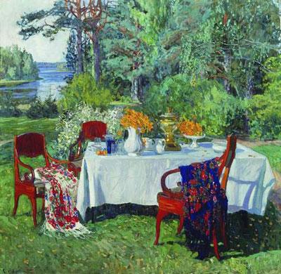 Лето в картинах художников