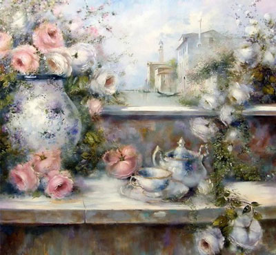 "Lovilla Chantal ""Чайный натюрморт."""