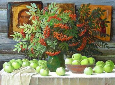 """В.Белан """"Яблочный спас."""""""