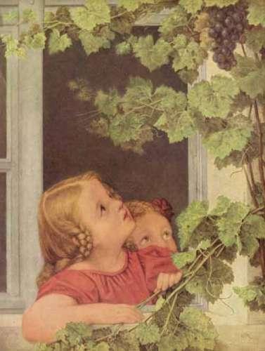 """Георг Фридрих Керстинг """"Дети у окна."""""""