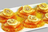 Фруктово-медовый десерт.
