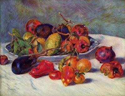 """О.Ренуар """"Натюрморт с южными плодами."""""""