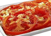 Рисовая запеканка с помидорами.