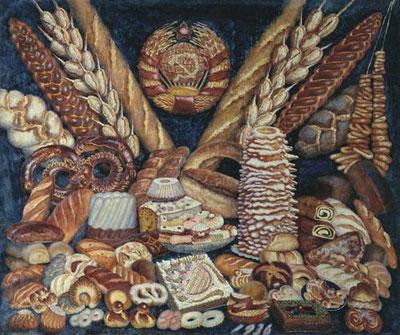 """И.И.Машков """"Советские хлебы."""""""