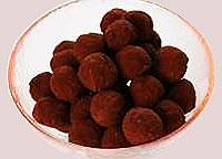 """Шоколадные трюфели """"Дениска""""."""