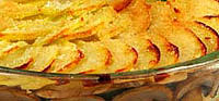 Картофельная запеканка по-монастырски.